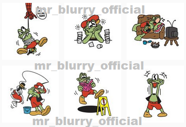 mr blurry, fishing, sleeping, caricature, frog, famous frog, funny frog, alcoholic frog, froggy frog, lol frog, roflmao frog, frog like mouse, mickey, disney style, cool draw, artist frog, frog doing various activities